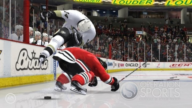 NHL 11 Screenshot #7 for Xbox 360