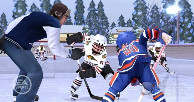 NHL Slapshot Screenshot #5 for Wii