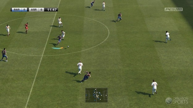Pro Evolution Soccer 2011 Screenshot #21 for Xbox 360