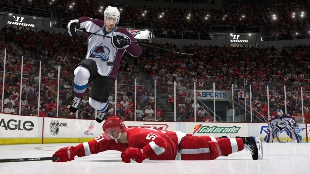 NHL 11 Screenshot #25 for Xbox 360