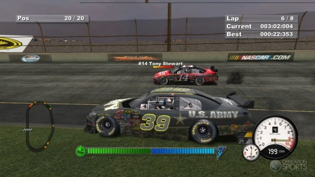 Days of Thunder: NASCAR Edition Screenshot #2 for PS3
