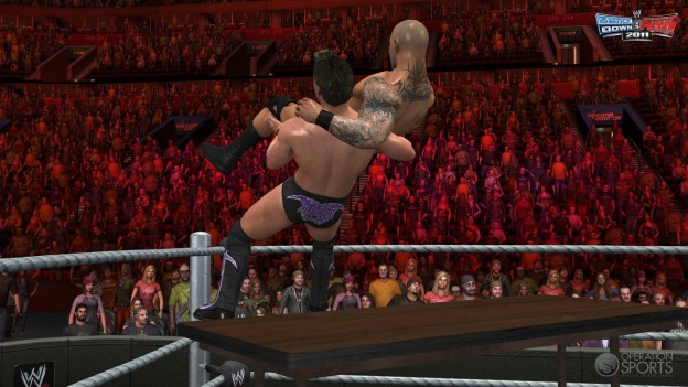 WWE Smackdown vs. Raw 2011 Screenshot #1 for Xbox 360