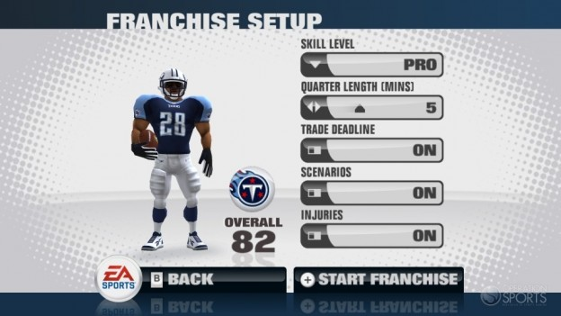 Madden NFL 11 Screenshot #28 for Wii