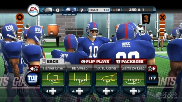 Madden NFL 11 Screenshot #35 for Wii