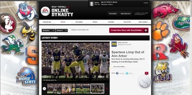 NCAA Football 11 Screenshot #105 for PS3