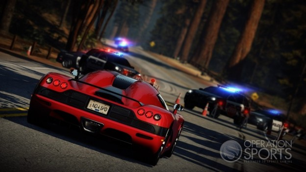 Need for Speed Hot Pursuit Screenshot #1 for Xbox 360