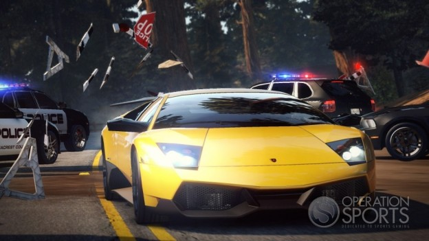 Need for Speed Hot Pursuit Screenshot #3 for Xbox 360