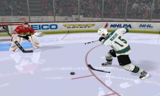 NHL 2K11 Screenshot #4 for Wii