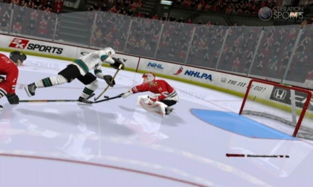 NHL 2K11 Screenshot #5 for Wii