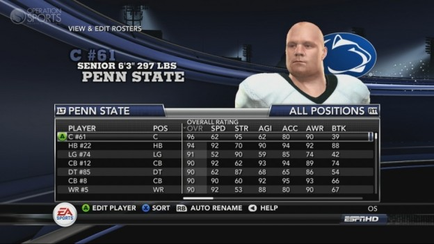 NCAA Football 11 Screenshot #164 for Xbox 360