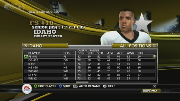 NCAA Football 11 Screenshot #209 for Xbox 360