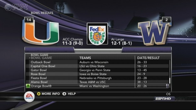 NCAA Football 11 Screenshot #224 for Xbox 360