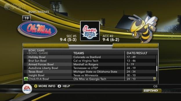 NCAA Football 11 Screenshot #225 for Xbox 360
