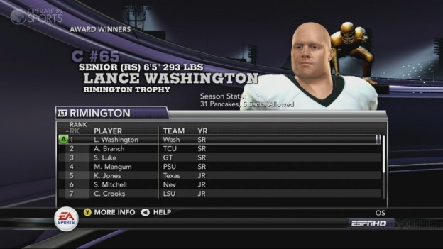 NCAA Football 11 Screenshot #235 for Xbox 360