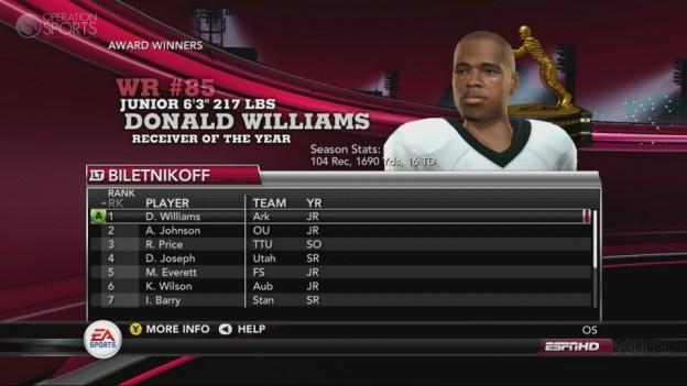 NCAA Football 11 Screenshot #238 for Xbox 360