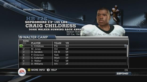 NCAA Football 11 Screenshot #243 for Xbox 360