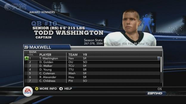NCAA Football 11 Screenshot #244 for Xbox 360