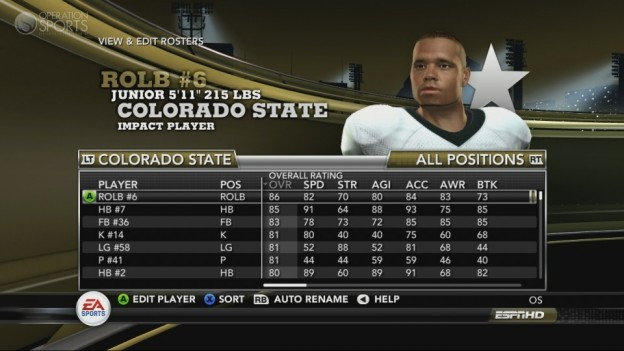 NCAA Football 11 Screenshot #245 for Xbox 360