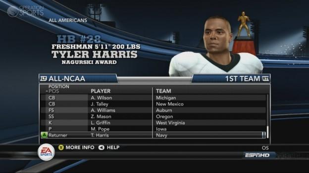 NCAA Football 11 Screenshot #246 for Xbox 360