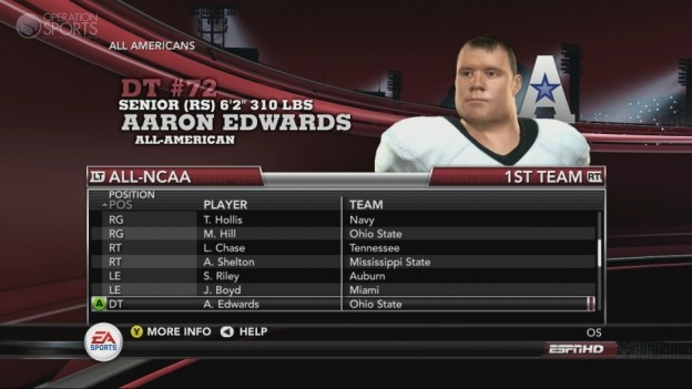 NCAA Football 11 Screenshot #248 for Xbox 360