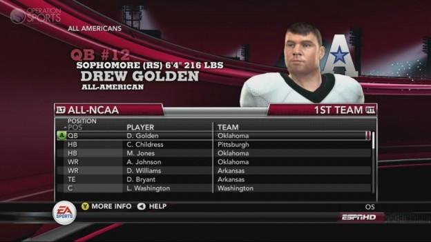NCAA Football 11 Screenshot #249 for Xbox 360
