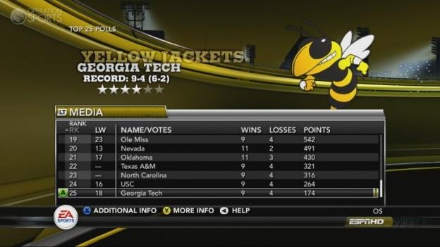 NCAA Football 11 Screenshot #250 for Xbox 360