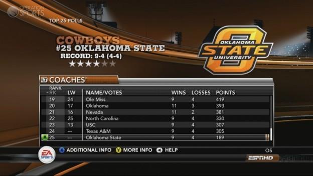 NCAA Football 11 Screenshot #254 for Xbox 360