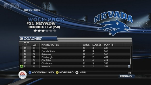 NCAA Football 11 Screenshot #255 for Xbox 360