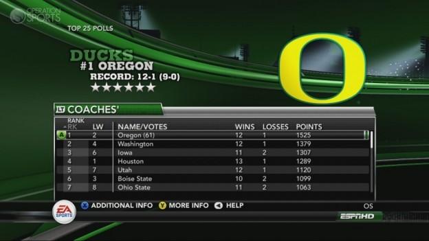 NCAA Football 11 Screenshot #259 for Xbox 360