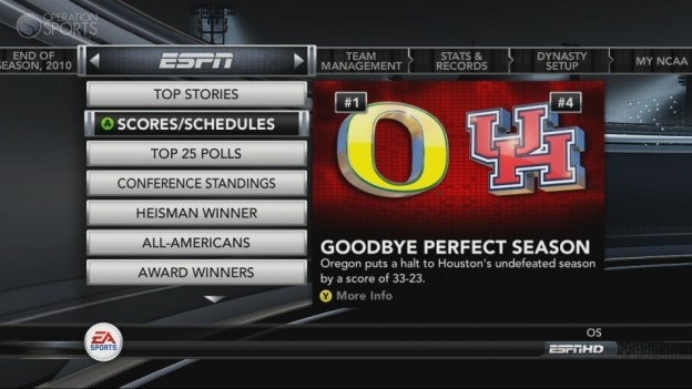 NCAA Football 11 Screenshot #260 for Xbox 360