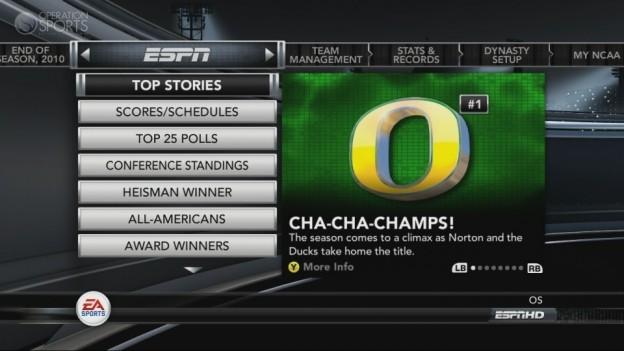 NCAA Football 11 Screenshot #261 for Xbox 360