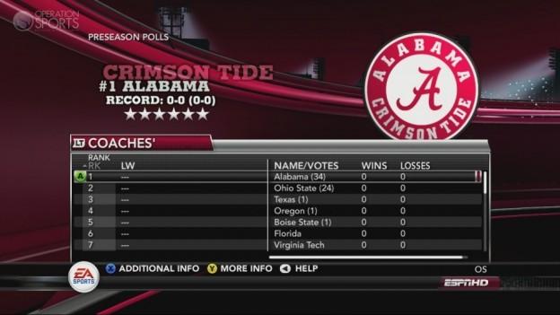 NCAA Football 11 Screenshot #275 for Xbox 360