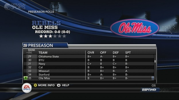 NCAA Football 11 Screenshot #276 for Xbox 360