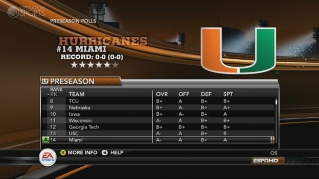 NCAA Football 11 Screenshot #280 for Xbox 360