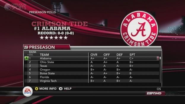 NCAA Football 11 Screenshot #281 for Xbox 360
