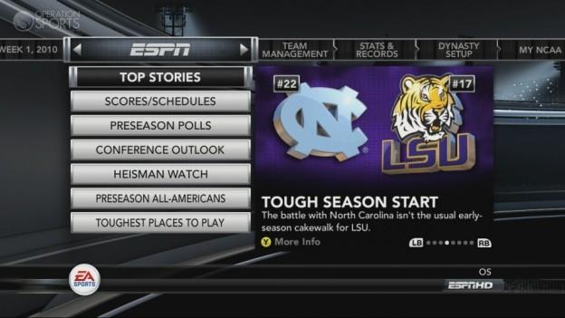 NCAA Football 11 Screenshot #282 for Xbox 360