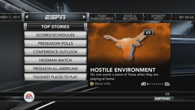 NCAA Football 11 Screenshot #283 for Xbox 360
