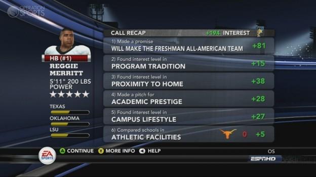 NCAA Football 11 Screenshot #286 for Xbox 360
