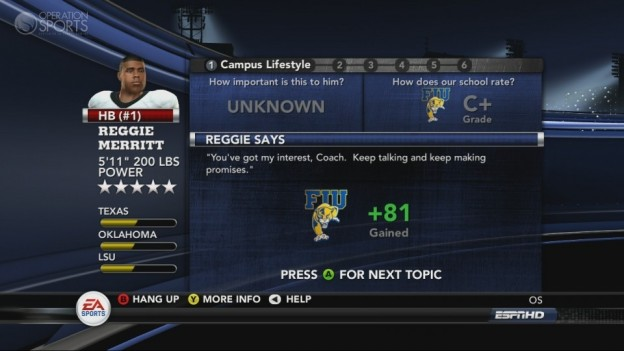 NCAA Football 11 Screenshot #291 for Xbox 360
