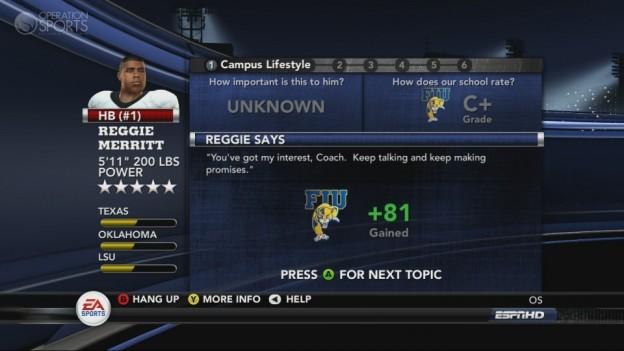 NCAA Football 11 Screenshot #291 for Xbox 360
