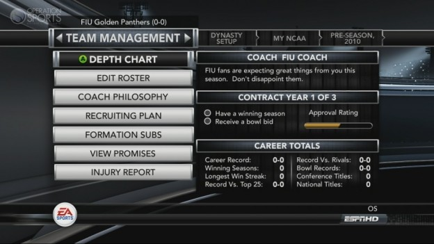 NCAA Football 11 Screenshot #302 for Xbox 360