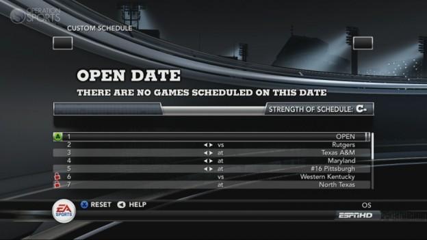 NCAA Football 11 Screenshot #303 for Xbox 360