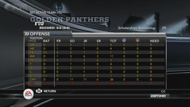 NCAA Football 11 Screenshot #310 for Xbox 360