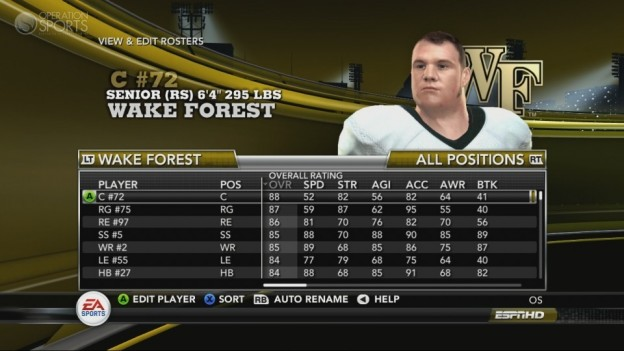 NCAA Football 11 Screenshot #353 for Xbox 360