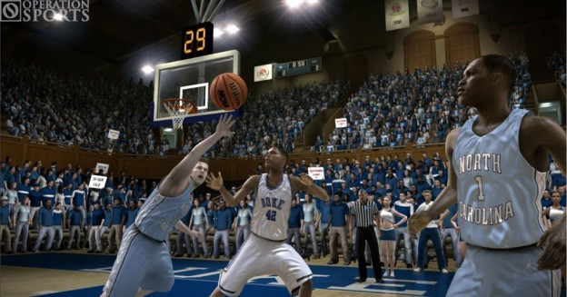 NCAA March Madness 08 Screenshot #1 for Xbox 360