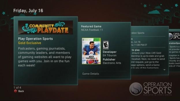NCAA Football 11 Screenshot #427 for Xbox 360