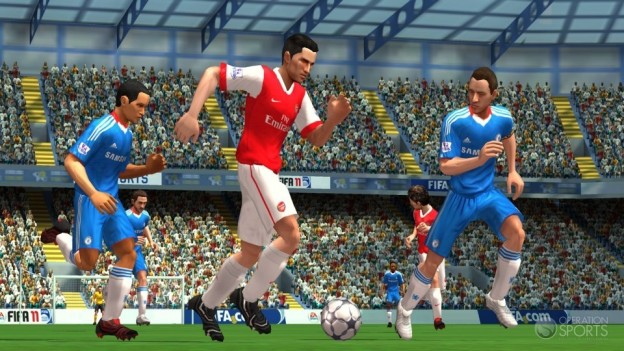FIFA Soccer 11 Screenshot #2 for Wii