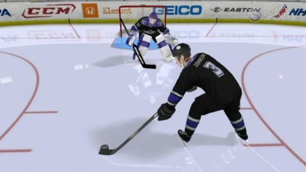 NHL 2K11 Screenshot #9 for Wii