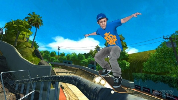 Tony Hawk Shred Screenshot #1 for Xbox 360