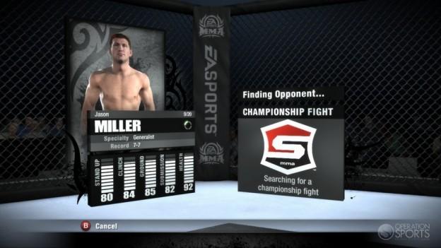 EA Sports MMA Screenshot #68 for Xbox 360